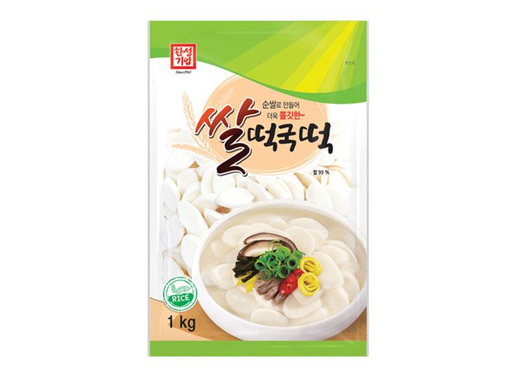 한성)삼 쌀떡국떡1kg