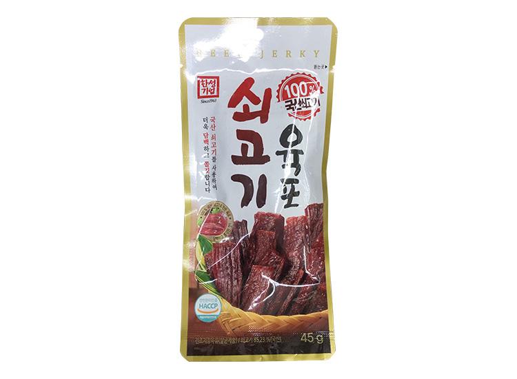 한성)쇠고기육포45g