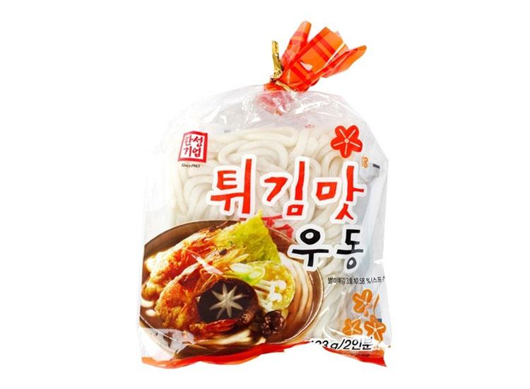 한성)튀김맛우동423g