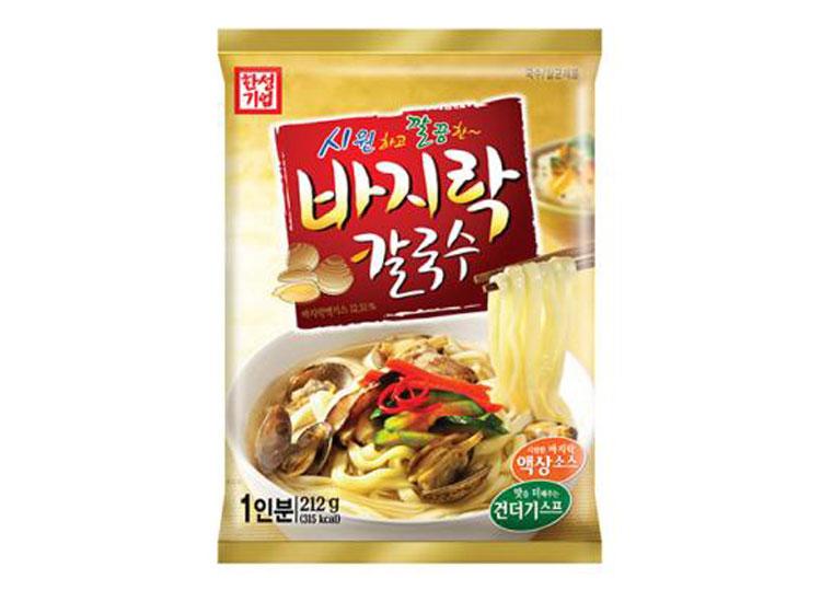 한성)바지락칼국수212g(1인분)