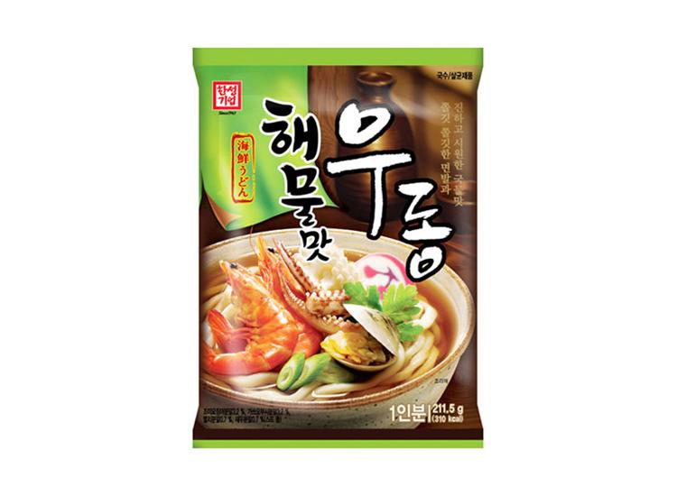 한성)해물맛우동1인분211.5g