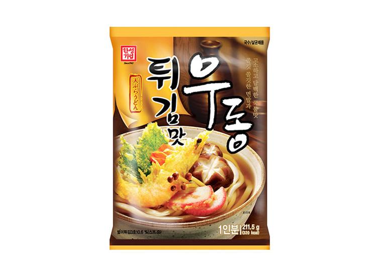 한성)튀김맛우동1인분211.5g