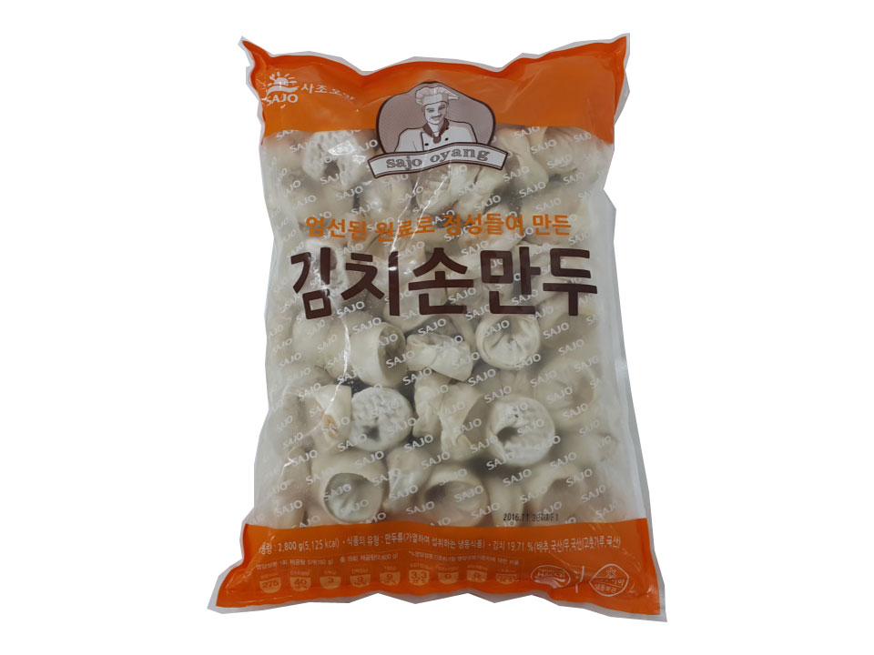 사조오양)엄선된김치손만두2.8kg