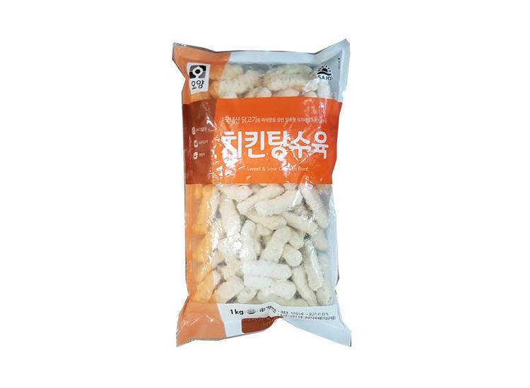 사조오양)치킨탕수육1kg