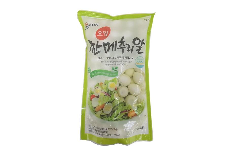 사조오양)깐메추리알1kg