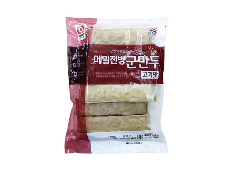 사조오양)고기메밀전병군만두1.2kg