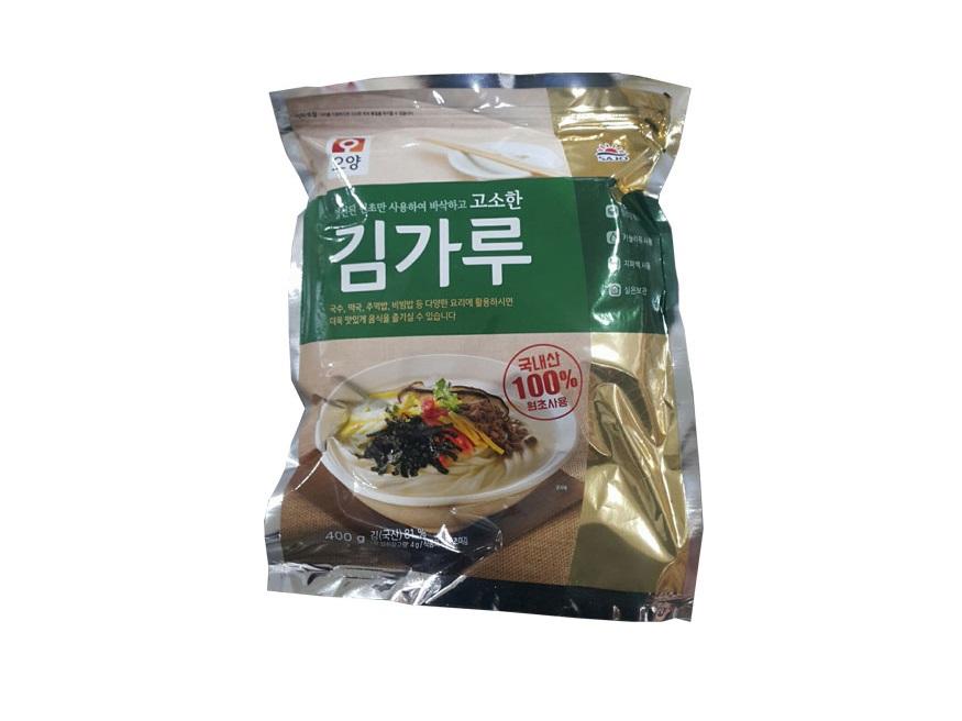 사조오양)고소한김가루400g