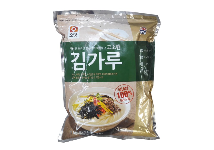 사조오양)고소한김가루1kg
