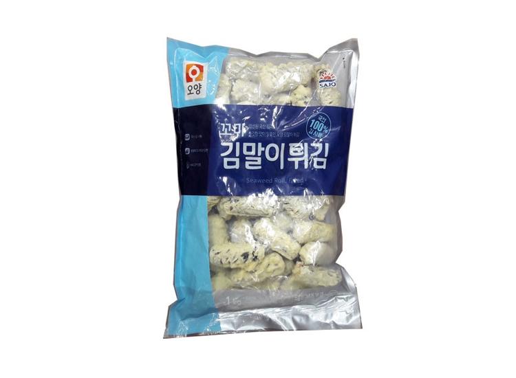 사조오양)꼬마김말이튀김1kg