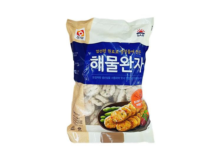 사조오양)해물완자1kg