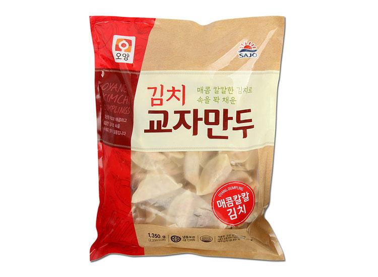 사조오양)김치교자만두2.8kg