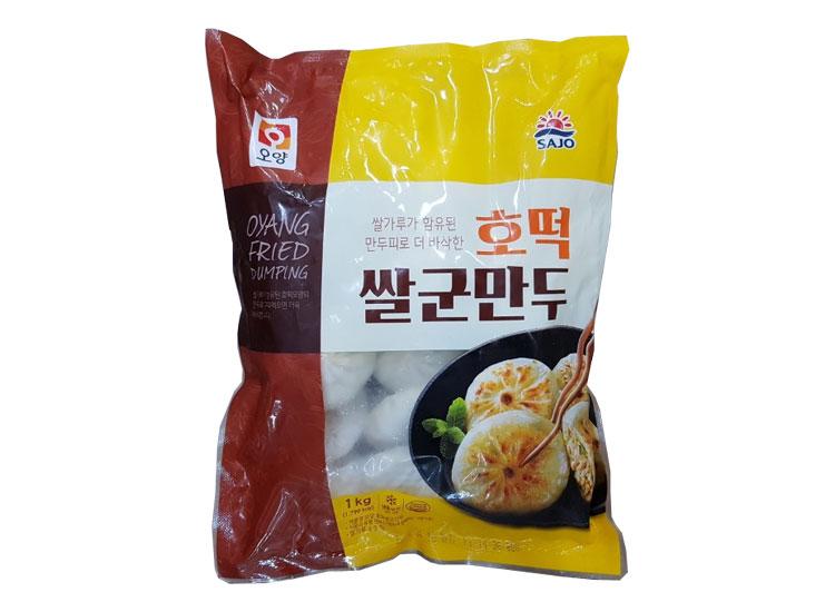 사조오양)호떡쌀군만두1kg