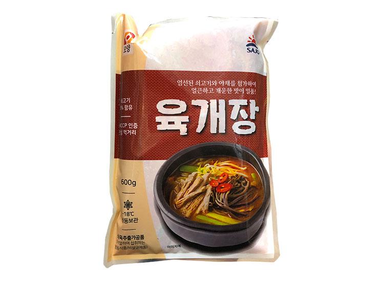 사조오양)육개장600g