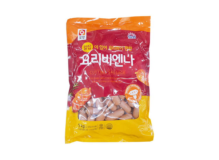 사조오양)칼집요리비엔나1kg