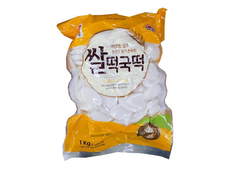사조오양)쌀떡국떡1kg