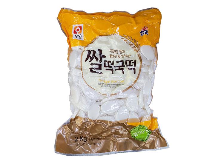사조오양)쌀떡국떡2kg
