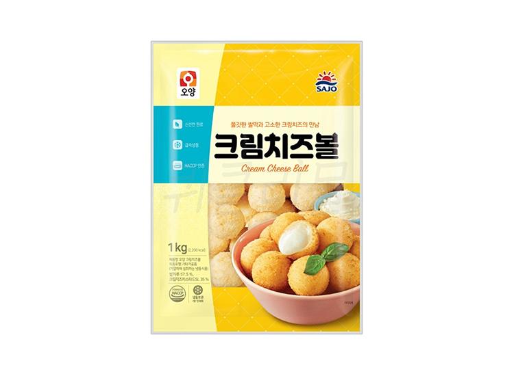 사조오양)크림치즈볼1kg