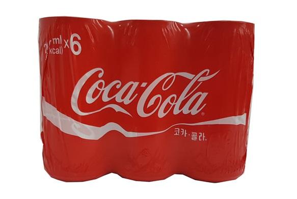 코카콜라210ml(캔)*6