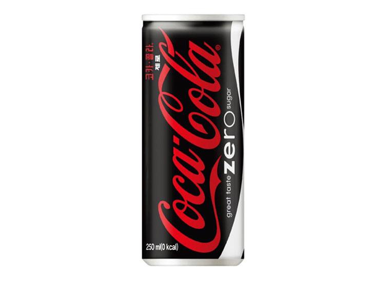 코카콜라제로250ml(캔)