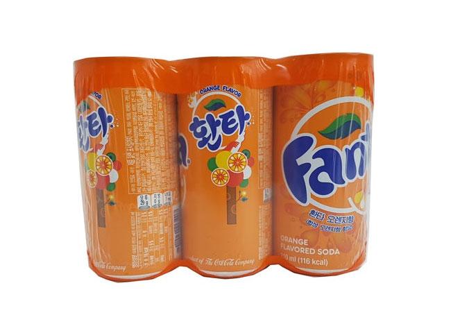 환타오렌지210ml*6입(캔)