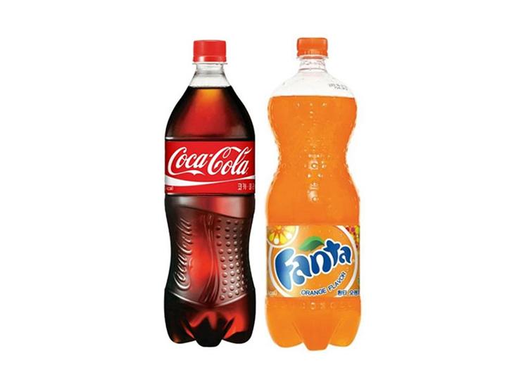 코카콜라1.5L 환타(오렌지)1.5L