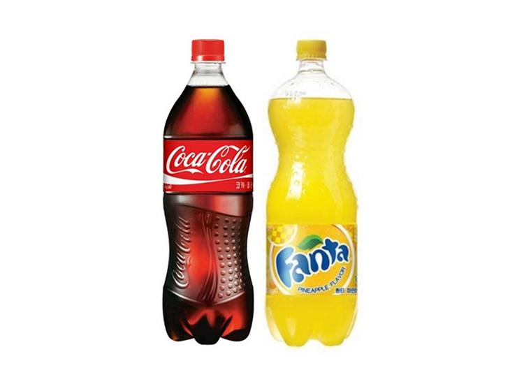 코카콜라1.5L 환타(파인)1.5L