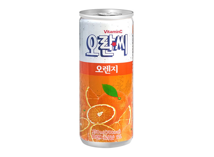 동아)오란씨캔오렌지250ml