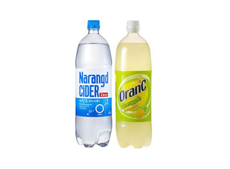 동아)나랑드1.5L+오란씨파인1.5L