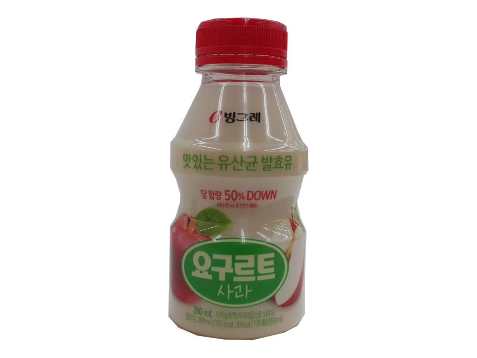 빙그레)요구르트사과맛280ml