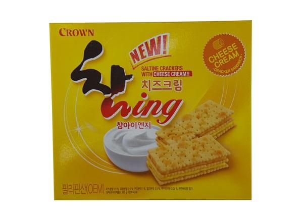 크라운)치즈크림참아이엔지360g