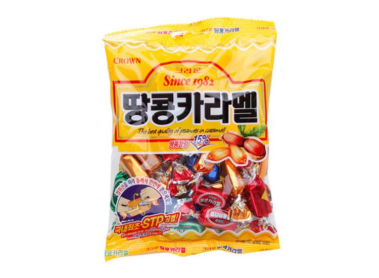 크라운)땅콩카라멜120g