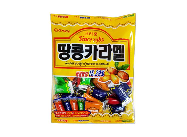 크라운)땅콩카라멜324g