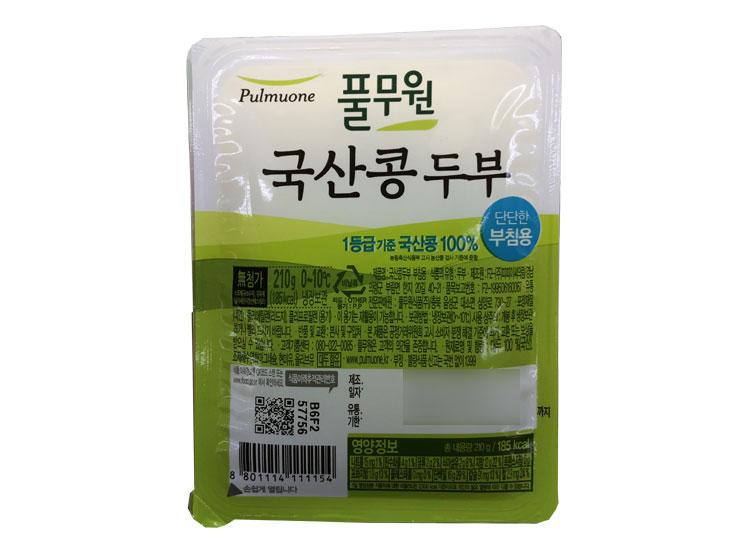 풀무원)국산콩두부부침용210g