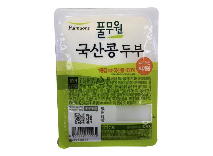 풀무원)국산콩두부찌개용210g