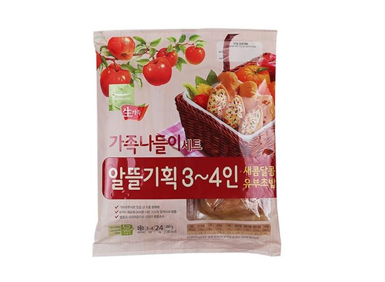 풀무원)새콤달콤유부초밥가족나들이280g(3~4인용)