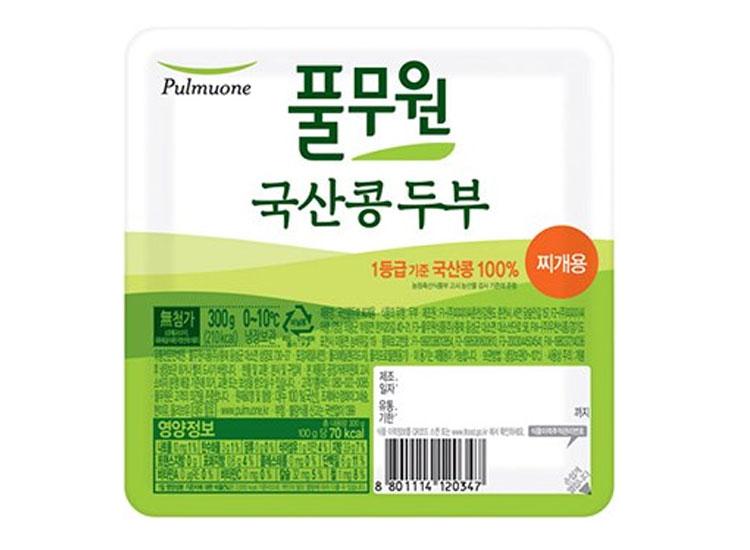 풀무원)국산콩두부찌개용300g