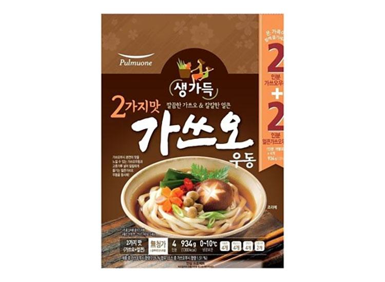 풀무원)가쓰오우동2가지맛934g(4인)