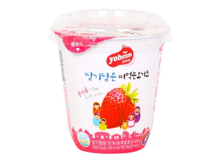서울)떠먹는요하임딸기400g