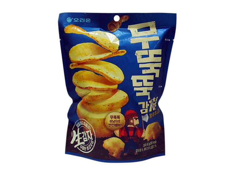 오리온)무뚝뚝감자칩통후추소금맛60g