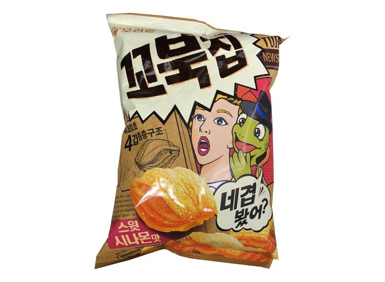 오리온)꼬북칩스윗시나몬맛136g