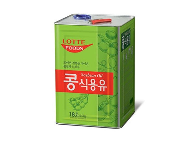 롯데)식용유18L