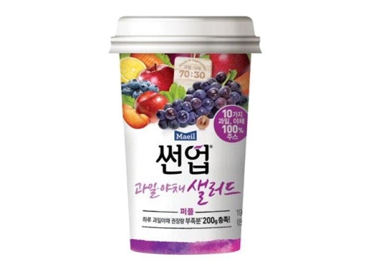 매일)썬업리치과일야채샐러드퍼플190ml