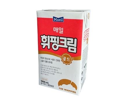 매일)휘핑크림골드1000ml