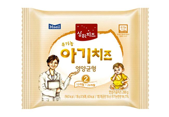 매일)(2STEP)유기농 아기치즈 10매*24