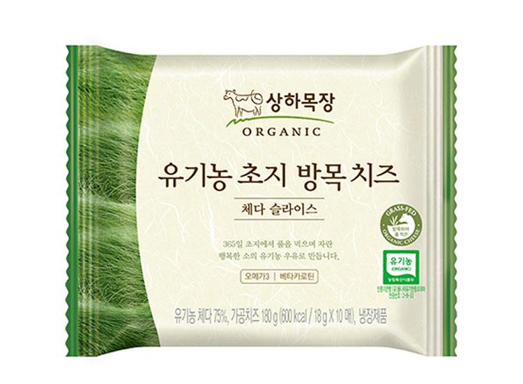매일)유기농초지방목치즈체다슬라이스10매