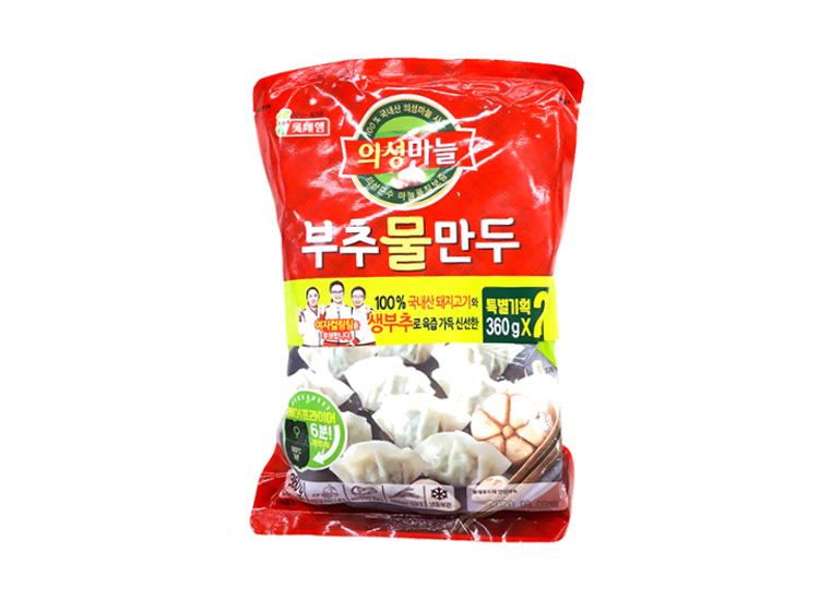 롯데햄)의성마늘부추물만두360g*2