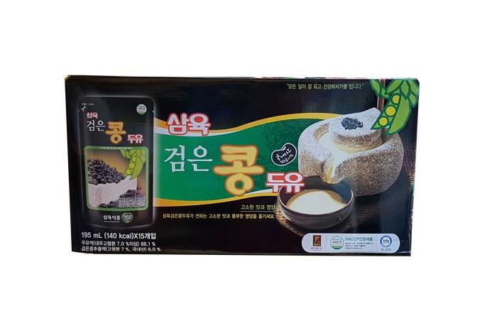 삼육)검은콩두유195ml*15입(파우치)