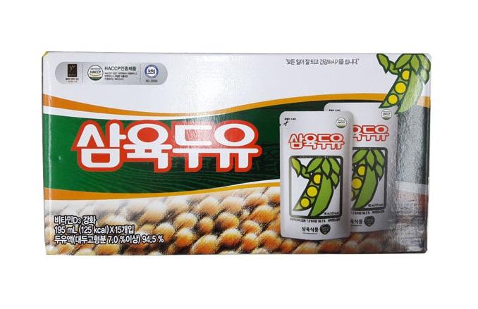 삼육)두유파우치195ml*15