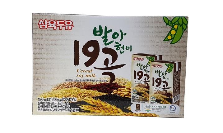삼육)발아현미19곡190ml*24