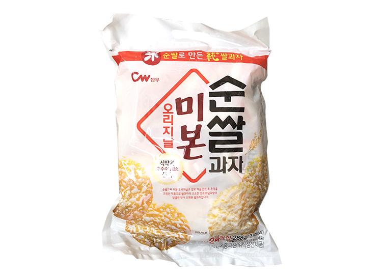 청우)순쌀과자미본오리지날288g